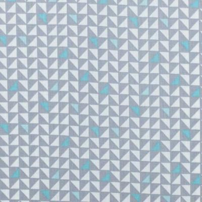 Tissu POPPY Pretty Triangles GRIS